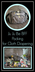 Ju-Ju Be BFF Packing For Cloth Diapering