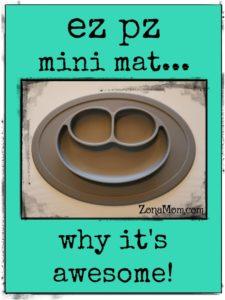 EZ PZ Mini Mat Product Review