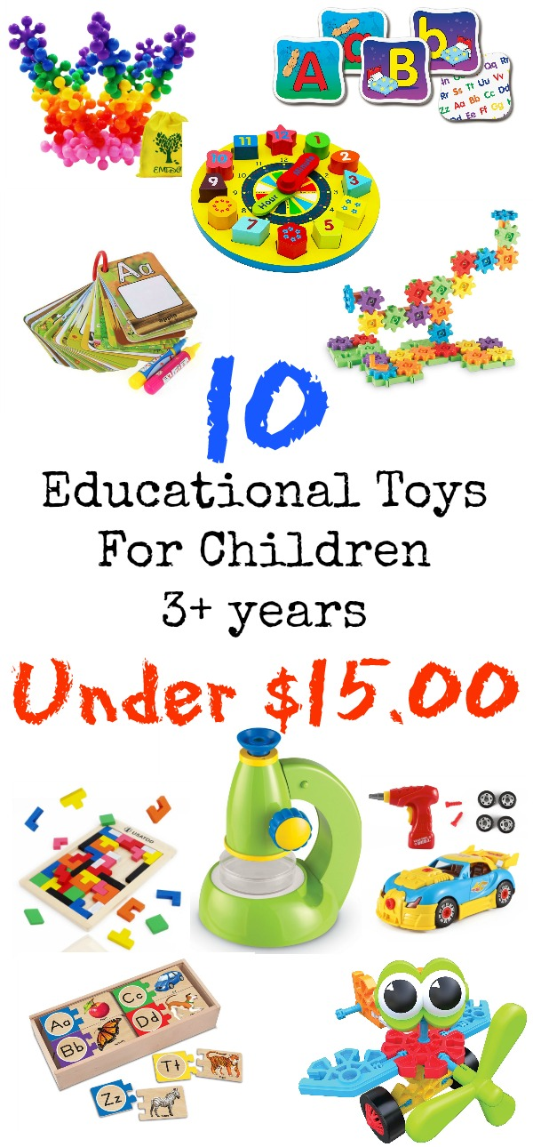 Educational Toys for Kids 3 years and up