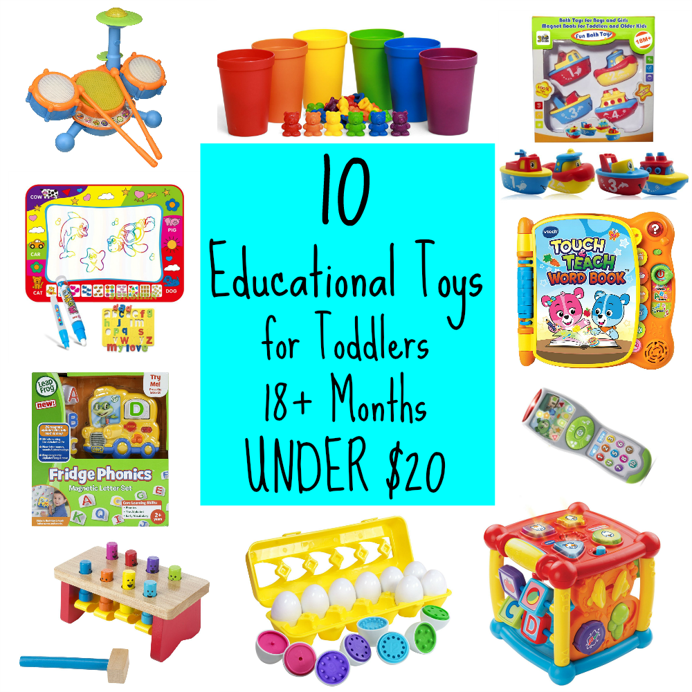 Toys For 20 : Educational toys for toddlers under stem gifts