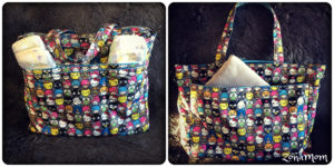 Ju-Ju Be Super Be in Hello Sanrio exterior packing