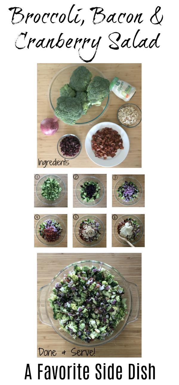 Broccoli Slaw Side dish