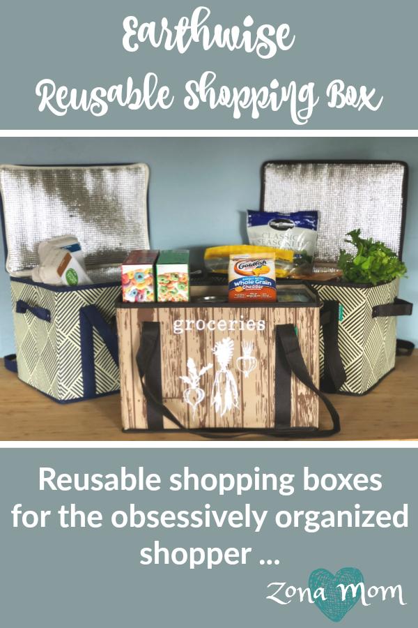 Reusable Shopping Bag | Reusable shopping box | Insulated Shopping box | Environmentally Friendly Shopper | Reduce Reuse Recycle | Grocery Bag | Reusable Grocery Box