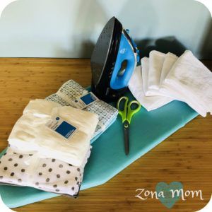 Flour Sack Towel DIY Replacement for Paper Towels and Napkins