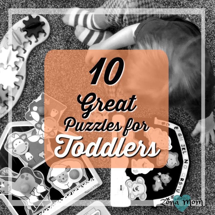 Puzzles for Toddlers- 10 Great Puzzles for Your Child's