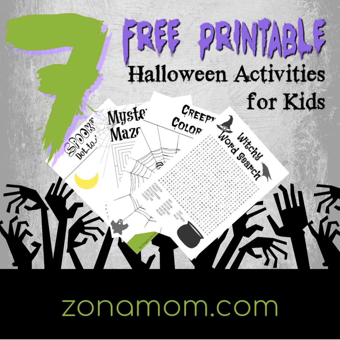 7 Free Printable Halloween Activities for Kids - ZonaMom